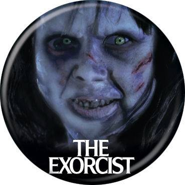 The Exorcist Face Button