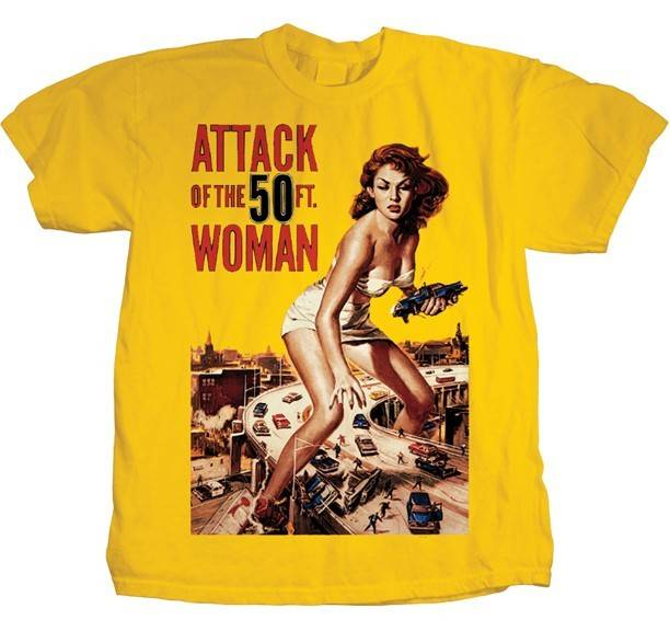 Attack of the 50 Foot Woman Shirt