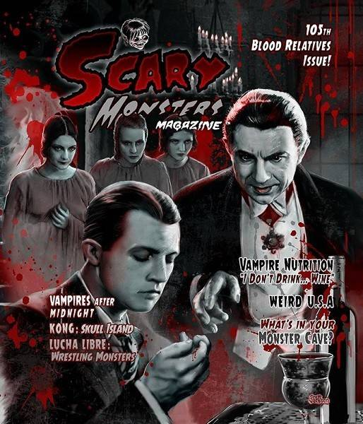 Scary Monsters Magazine #105