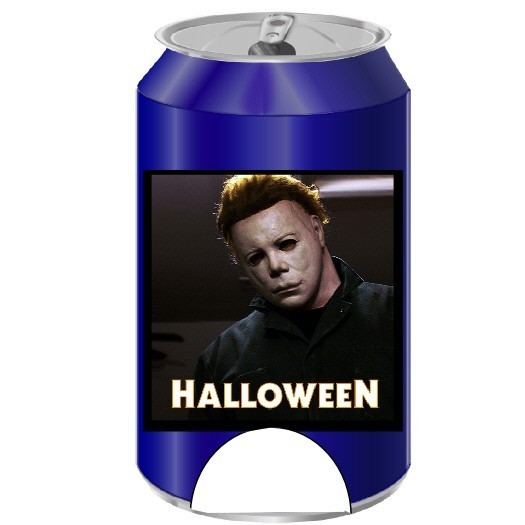 Can Coolers: Halloween Michael Myers