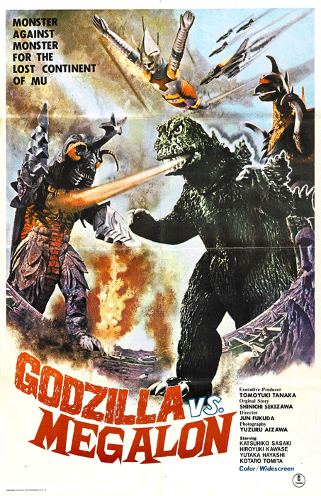 Image result for godzilla vs megalon