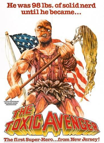 The Toxic Avenger Sticker
