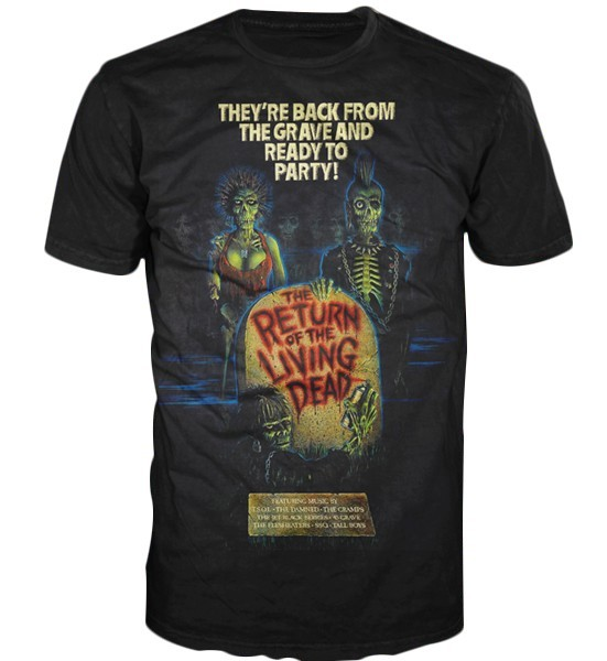 Return of The Living Dead Ready To Party T-shirt