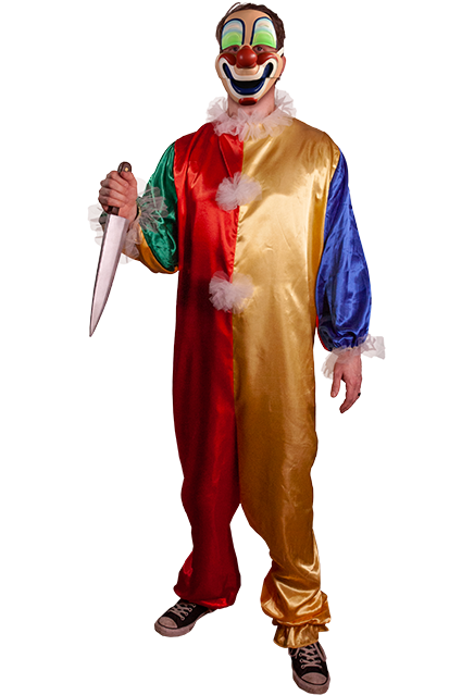 Halloween Clown.Halloween Young Michael Myers Clown Adult Costume