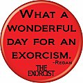 The Exorcist Exorcism Button