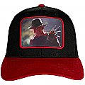 A Nightmare On Elm Street Sublimated Patch Pre-Curved Snapback Cap