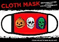 Halloween 3 Masks Cloth Mask