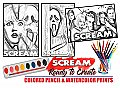 Scream Watercolor Art Paint Set