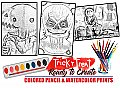 Trick r Treat Watercolor Art Paint Set