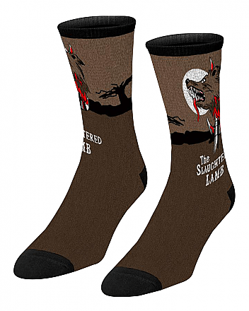 An American Werewolf In London Socks