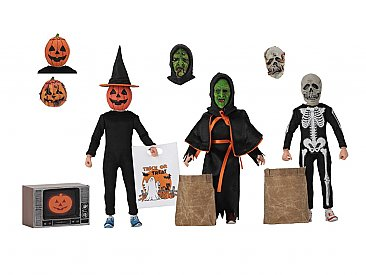 "Halloween 3 Season of the Witch 8"" Scale Clothed Figures"