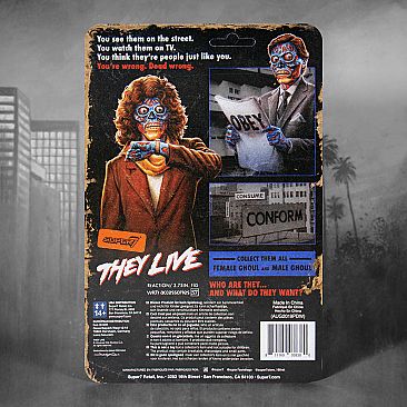 They Live Female Ghoul ReAction Figure