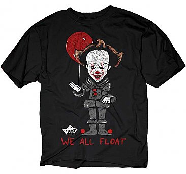 Stephen King's IT 2017 We All Float Shirt