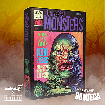 Universal Monsters Creature From The Black Lagoon Puzzle