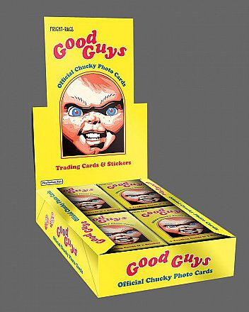 Child's Play Chucky Trading Cards Sealed Box