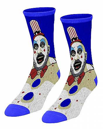 House of 1000 Corpses Captain Spaulding Socks
