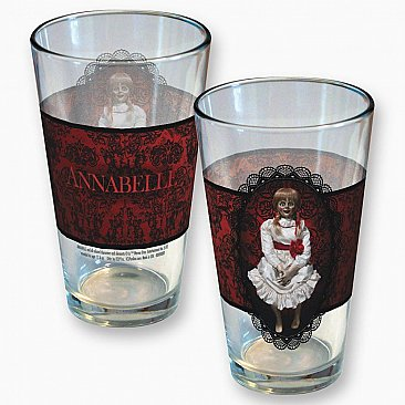Annabelle Antique Pattern Pint Glass