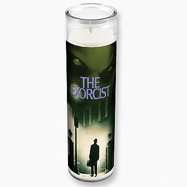 The Exorcist Movie Poster Tall Candle