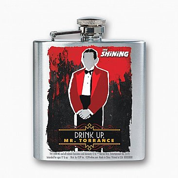 The Shining Stainless Steel 8oz Flask