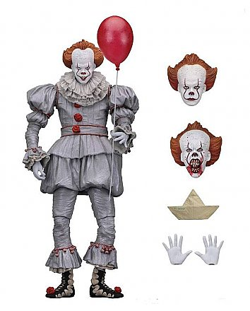 "IT Ultimate Pennywise 2017 Movie 7"" Scale Action Figure"