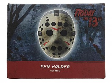 Friday the 13th Jason Mask Pen & Pencil Holder