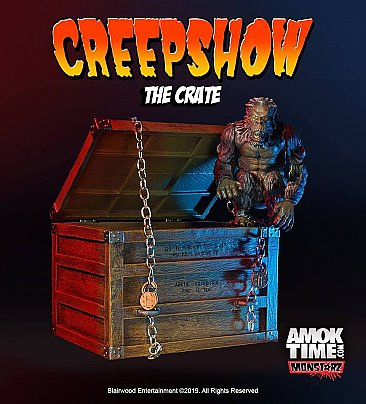 "Creepshow ""The Crate"" 3.75"" Scale Retro Action Figure"