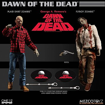 Dawn of the Dead Boxed Set One:12 Collective Figures