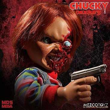 Child's Play 3 Talking Pizza Face Chucky