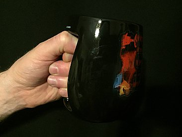 A Nightmare on Elm Street Don't Fall Asleep Inverted Handle Mug