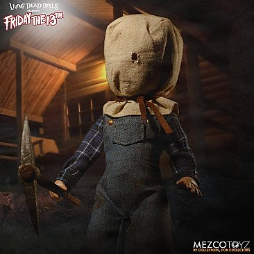 Living Dead Dolls Friday The 13th Part II Jason Voorhees Deluxe Edition
