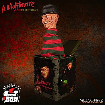 A Nightmare on Elm Street Freddy Krueger Burst-A-Box