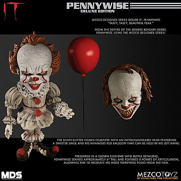 IT Pennywise Mezco Designer Series