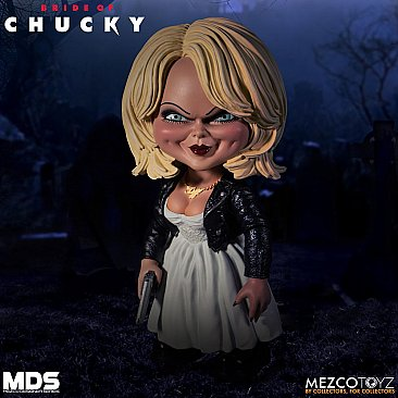 Bride of Chucky Tiffany Mezco Designer Series
