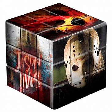 Friday The 13th 2009 Jason Voorhees Puzzle Blox