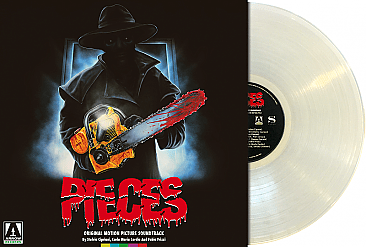 Pieces Original Soundtrack LP: Limited Edition Clear Vinyl