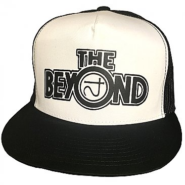 The Beyond White/Black Trucker Cap