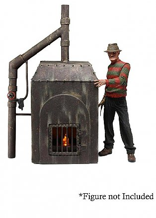 A Nightmare on Elm Street Freddy\'s Furnace Diorama