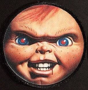 Child's Play Chucky Face Patch