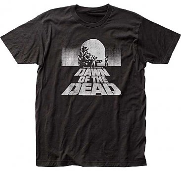 Dawn of the Dead B&W Poster Shirt