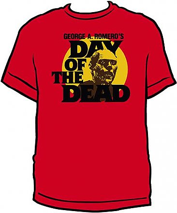 Day of the Dead Red Shirt