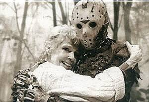 Friday the 13th Mom & Jason Magnet