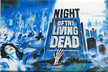 Horror Magnets: Night of the Living Dead