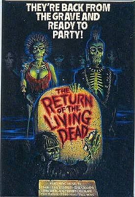 The Return of the Living Dead Poster Magnet