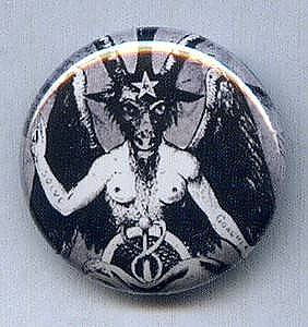 Baphomet Button