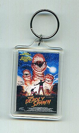 The Deadly Spawn Key Chain