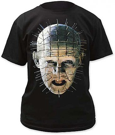 Hellraiser Pinhead Close-Up Color Shirt