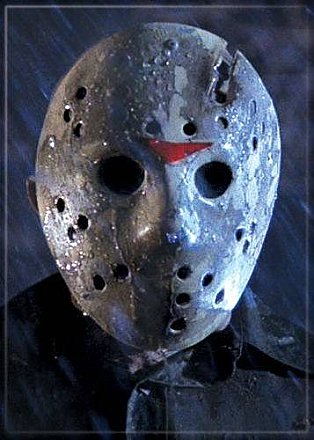 Friday the 13th Jason Mask Magnet