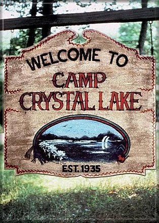 Friday the 13th Welcome to Camp Blood Magnet