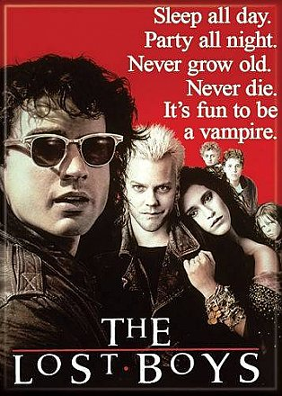 The Lost Boys Poster Magnet
