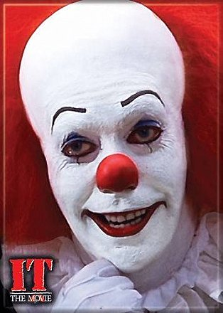 Stephen King's IT Pennywise Grin Magnet